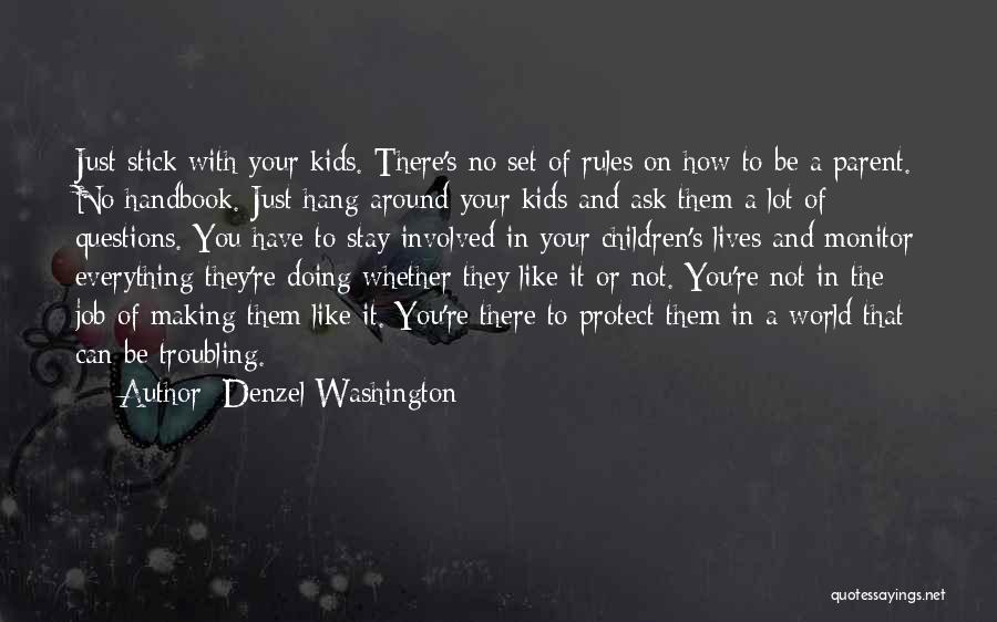 Just Doing Your Job Quotes By Denzel Washington