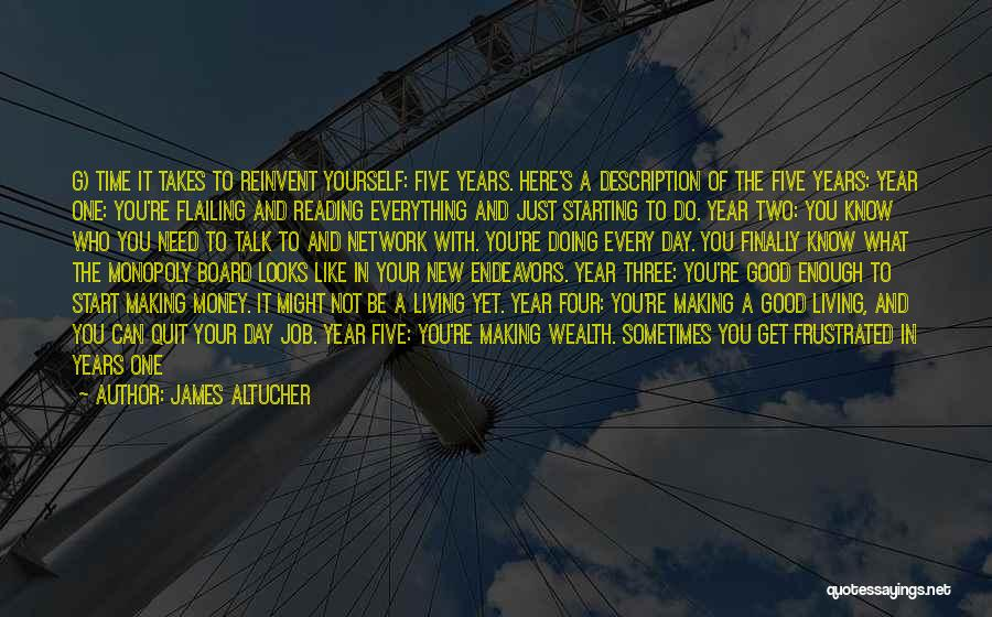 Just Doing Your Job Quotes By James Altucher