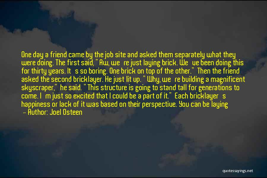 Just Doing Your Job Quotes By Joel Osteen