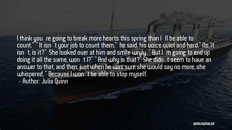 Just Doing Your Job Quotes By Julia Quinn