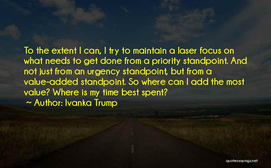 Just Done Trying Quotes By Ivanka Trump