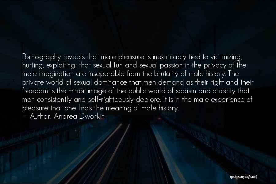 Just For Fun Image Quotes By Andrea Dworkin