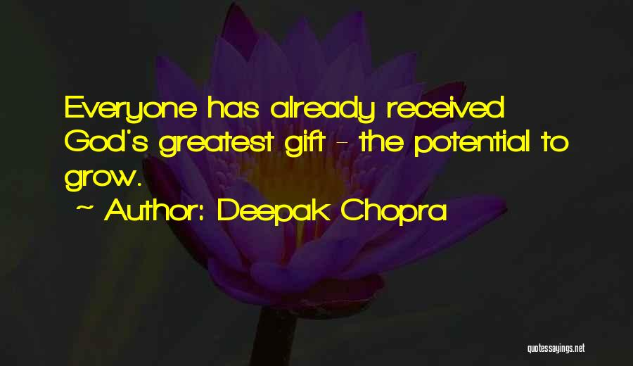 Just Grow Up Already Quotes By Deepak Chopra