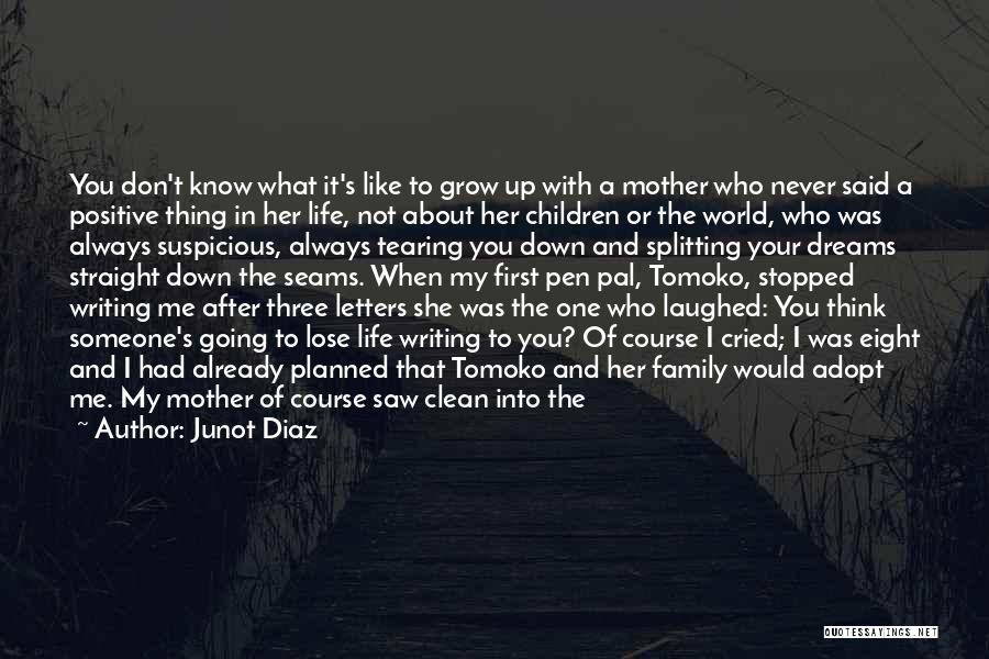 Just Grow Up Already Quotes By Junot Diaz