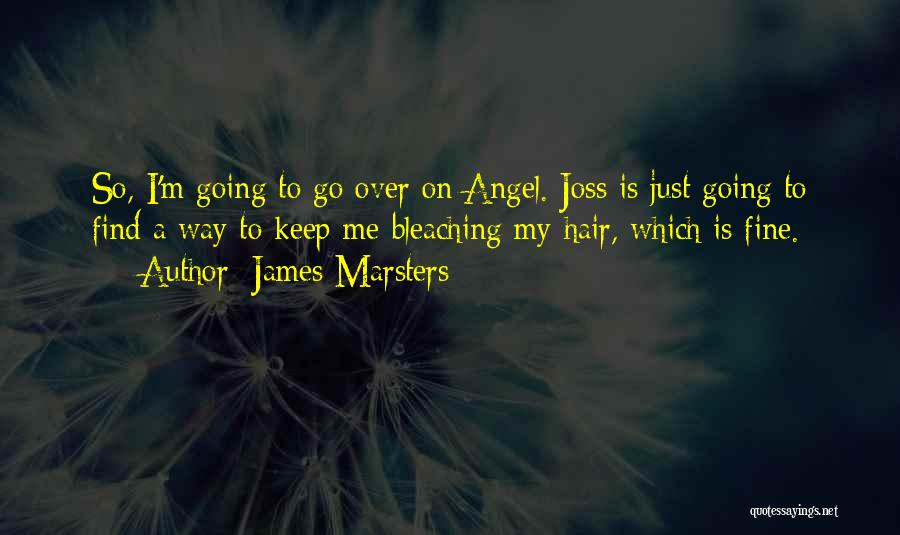 Just Keep Going Quotes By James Marsters