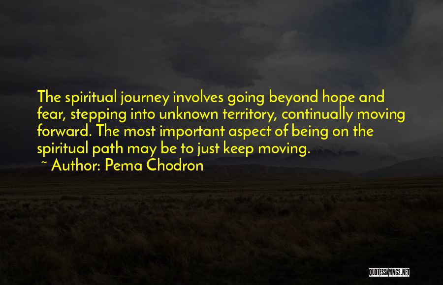 Just Keep Going Quotes By Pema Chodron