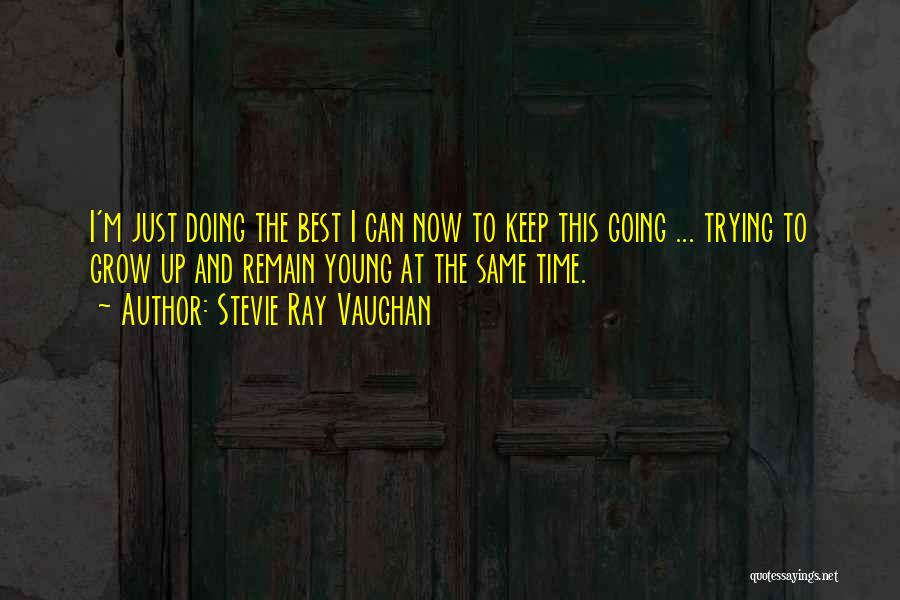 Just Keep Going Quotes By Stevie Ray Vaughan