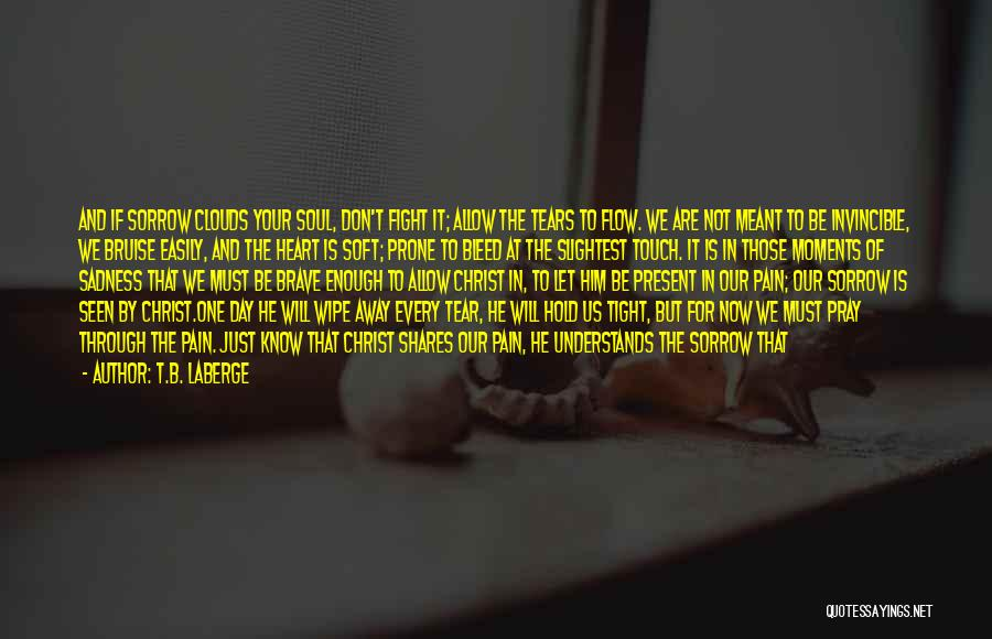 Just Know You're Not Alone Quotes By T.B. LaBerge