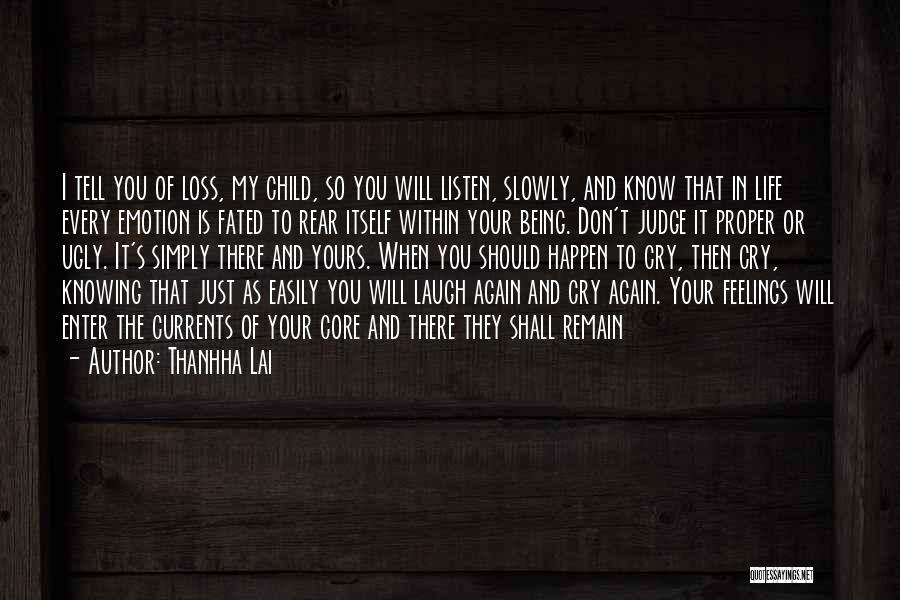 Just Knowing You're There Quotes By Thanhha Lai