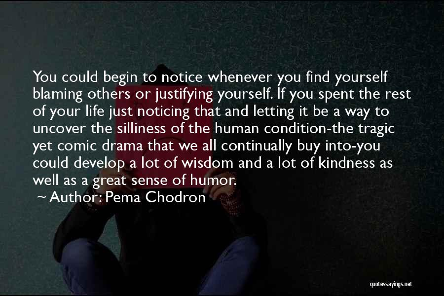 Just Letting It Be Quotes By Pema Chodron