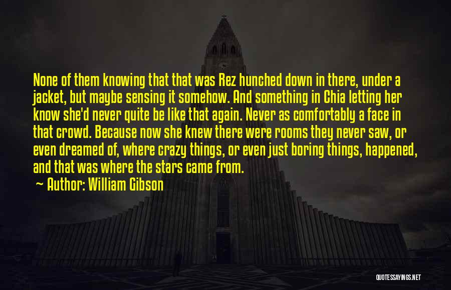Just Letting It Be Quotes By William Gibson