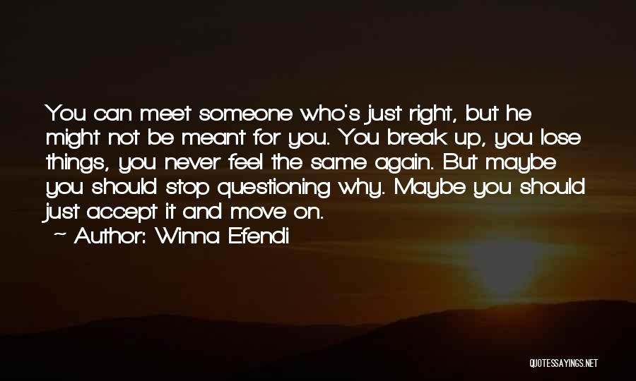 Just Letting It Be Quotes By Winna Efendi