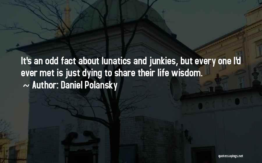 Just Met Quotes By Daniel Polansky