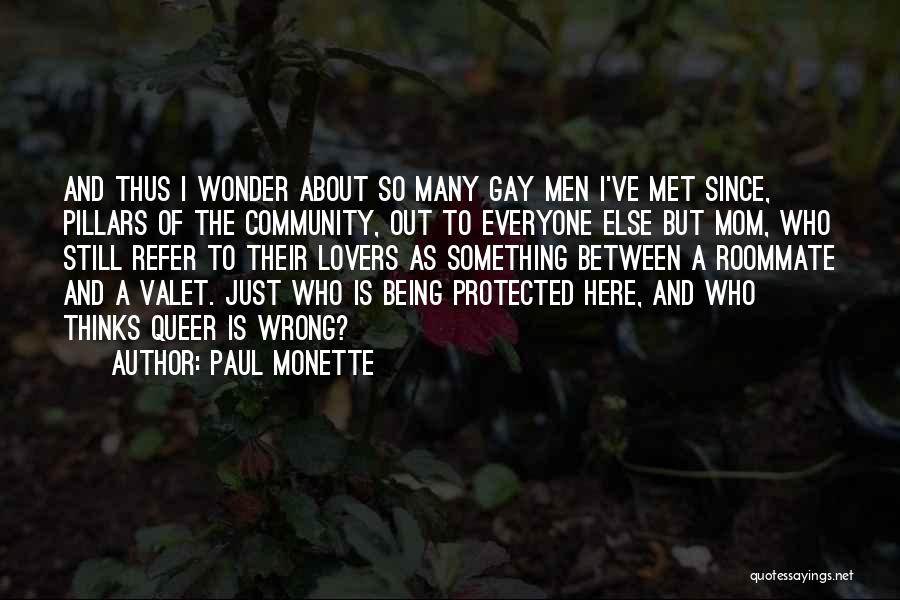 Just Met Quotes By Paul Monette