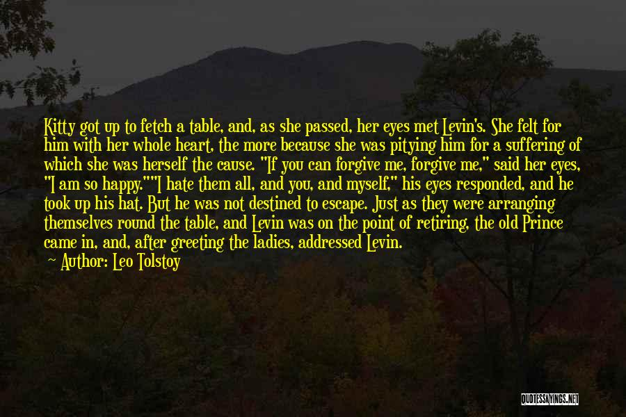 Just Met You Quotes By Leo Tolstoy