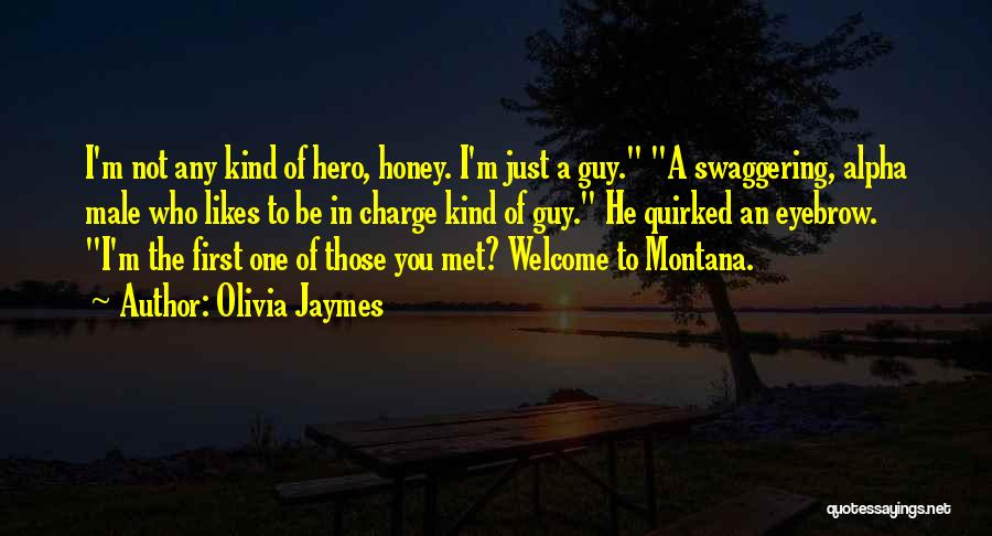 Just Met You Quotes By Olivia Jaymes