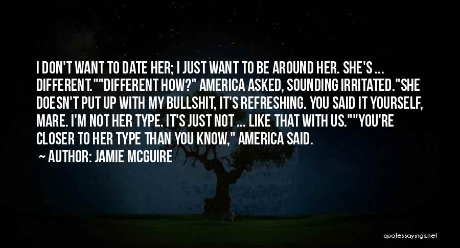 Just My Type Quotes By Jamie McGuire