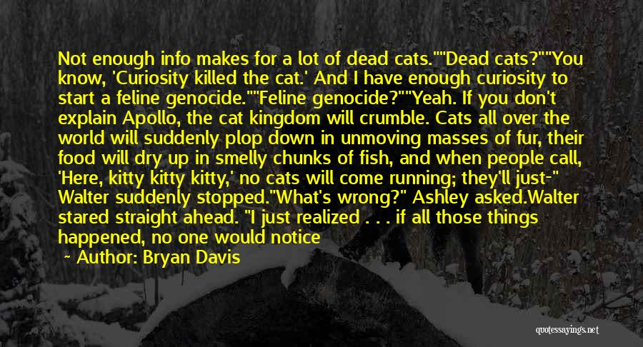 Just Not Enough Quotes By Bryan Davis