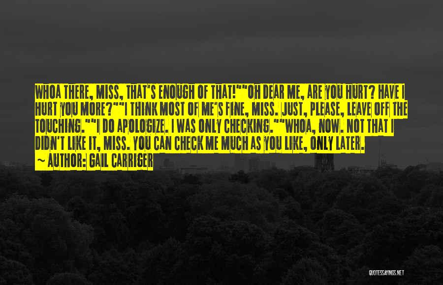 Just Not Enough Quotes By Gail Carriger