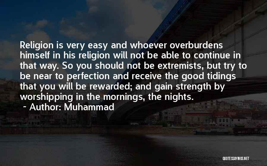 Just One Of Those Nights Quotes By Muhammad