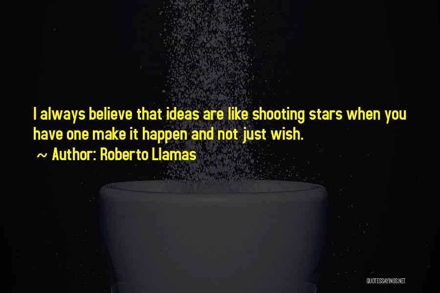 Just One Wish Quotes By Roberto Llamas