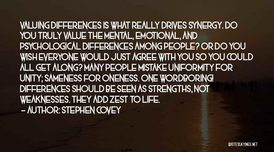 Just One Wish Quotes By Stephen Covey