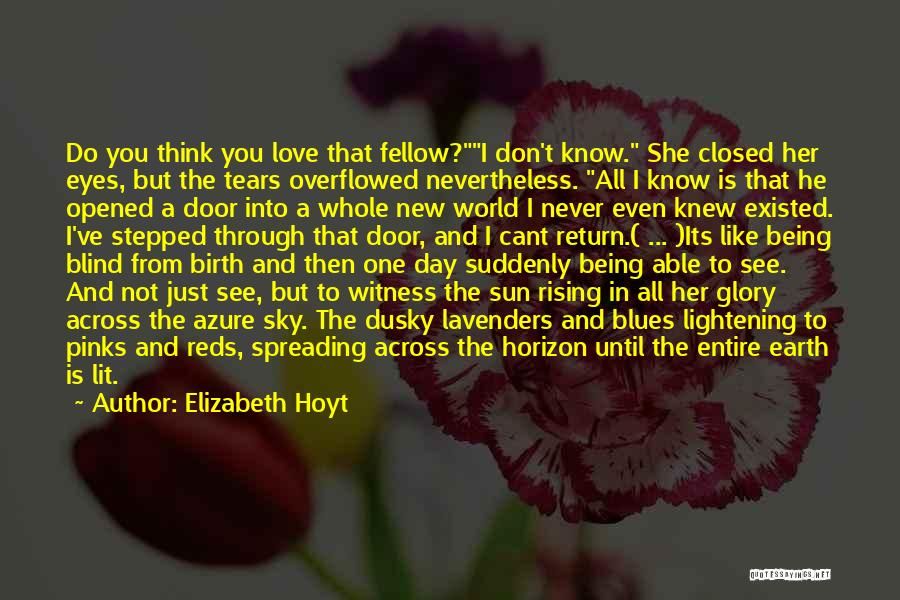 Just Remember That I Love You Quotes By Elizabeth Hoyt