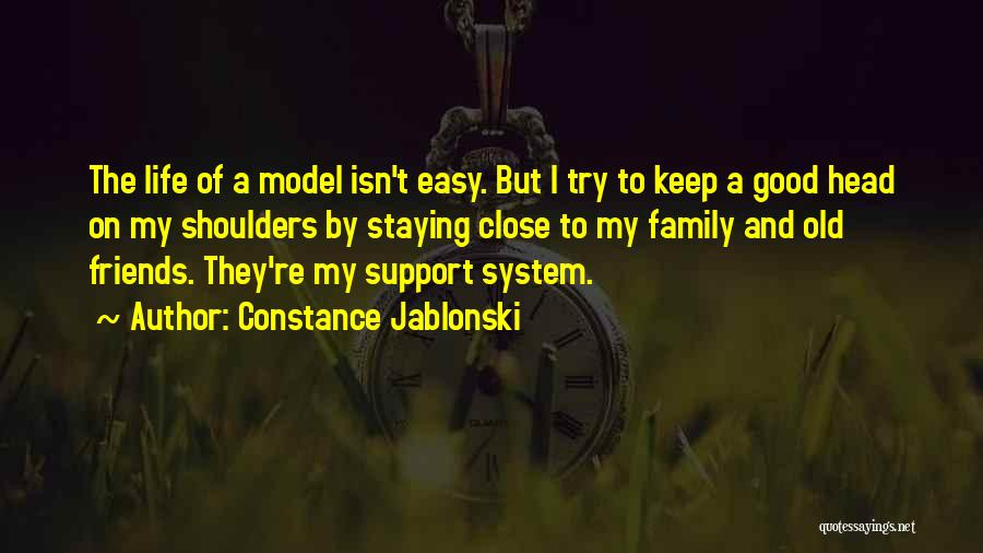 Just Staying Friends Quotes By Constance Jablonski