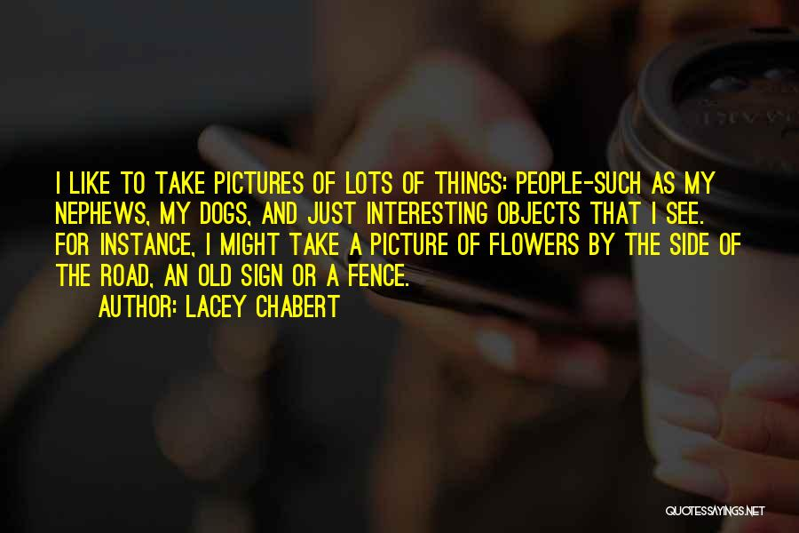 Just Take A Picture Quotes By Lacey Chabert