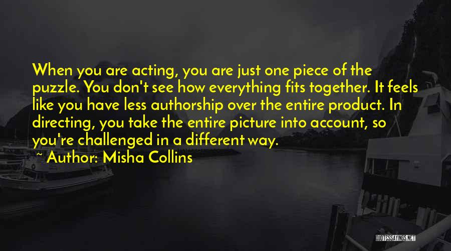 Just Take A Picture Quotes By Misha Collins