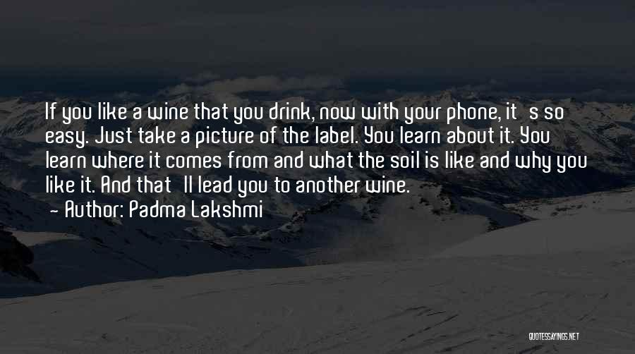 Just Take A Picture Quotes By Padma Lakshmi