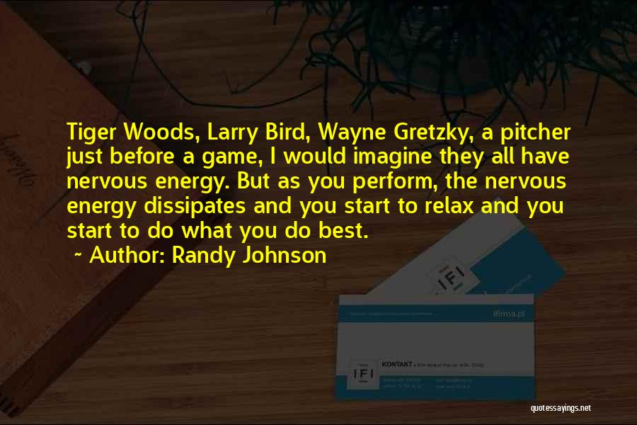 Just The Start Quotes By Randy Johnson