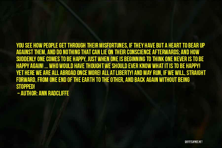 Just Thought You Should Know Quotes By Ann Radcliffe