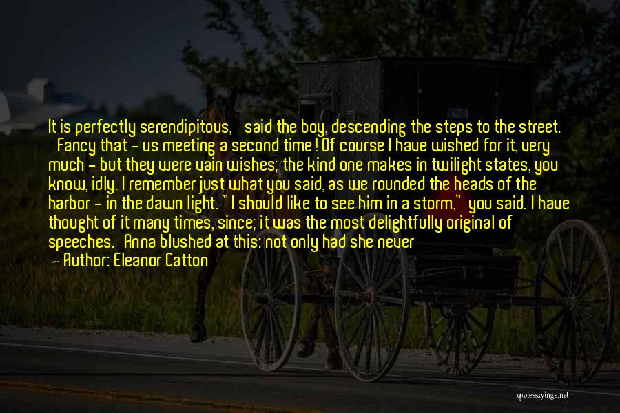 Just Thought You Should Know Quotes By Eleanor Catton