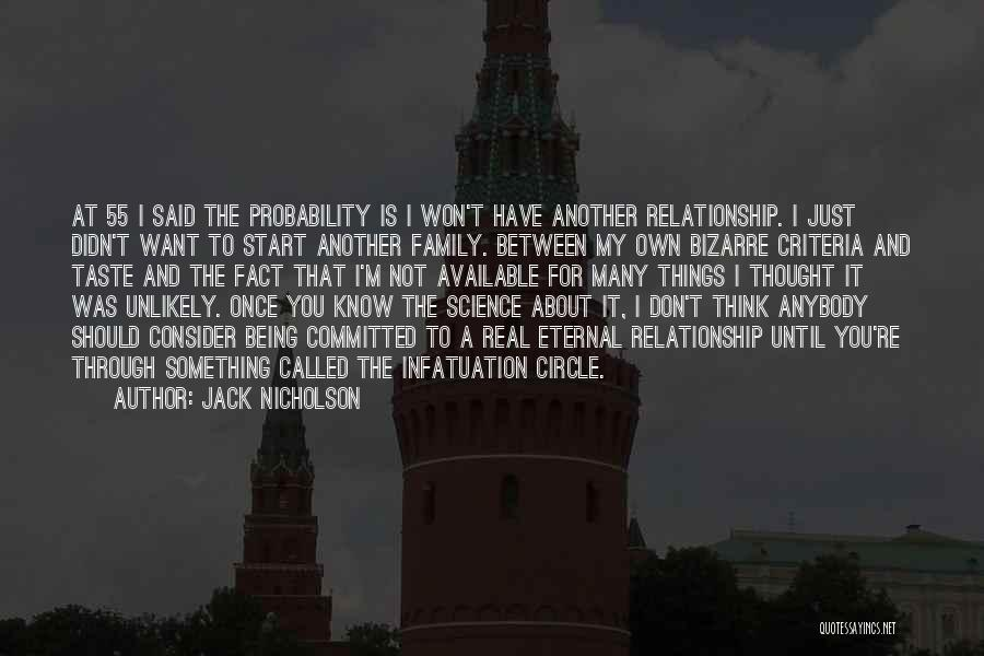 Just Thought You Should Know Quotes By Jack Nicholson
