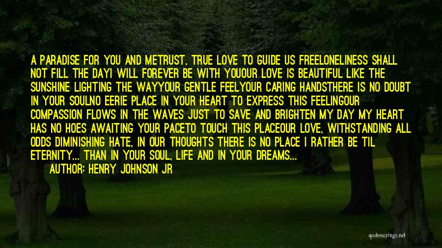 Just Trust Me Quotes By Henry Johnson Jr