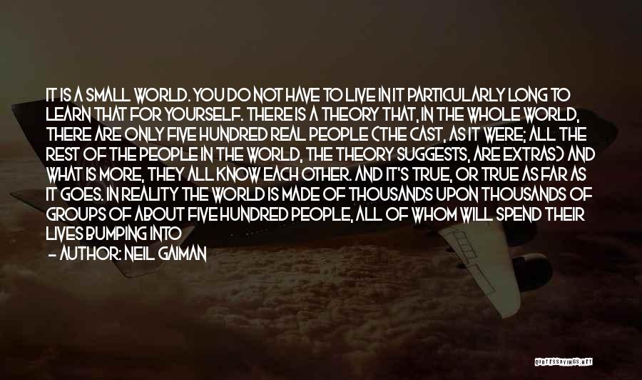 Just Trying To Live Life Quotes By Neil Gaiman