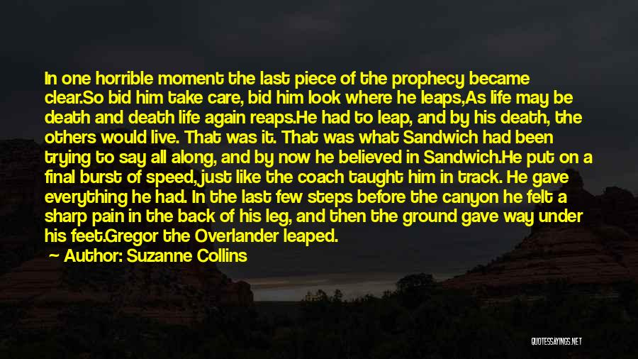 Just Trying To Live Life Quotes By Suzanne Collins