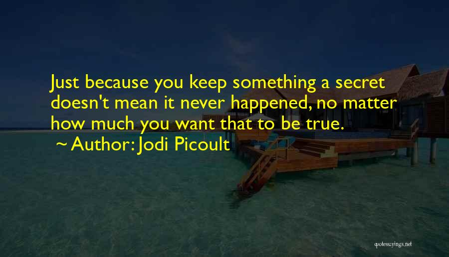 Just Want You Quotes By Jodi Picoult