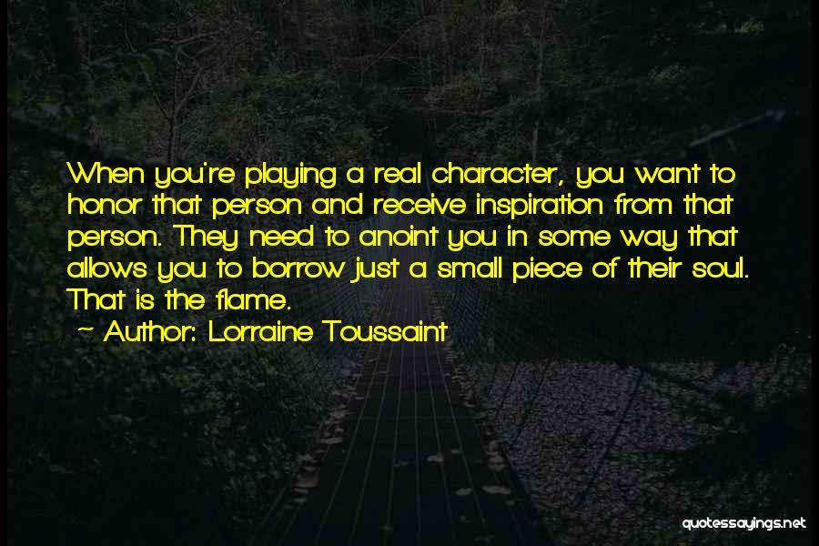 Just Want You Quotes By Lorraine Toussaint