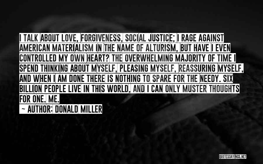 Justice And Forgiveness Quotes By Donald Miller