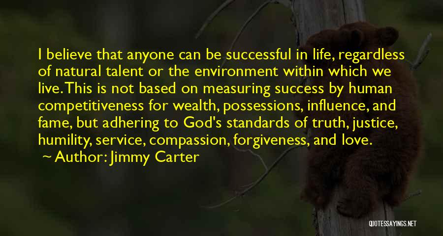 Justice And Forgiveness Quotes By Jimmy Carter