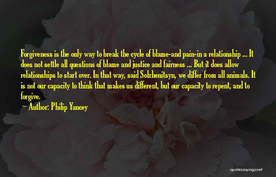 Justice And Forgiveness Quotes By Philip Yancey