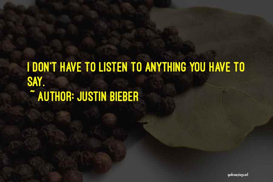 Justin Bieber Quotes 1066757