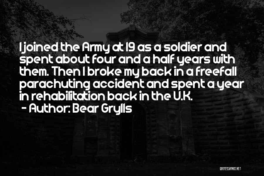 K 19 Quotes By Bear Grylls