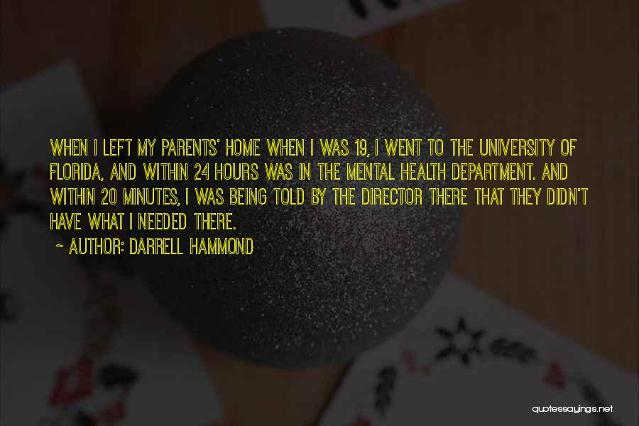 K 19 Quotes By Darrell Hammond