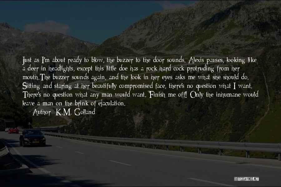 K.M. Golland Quotes 1627222