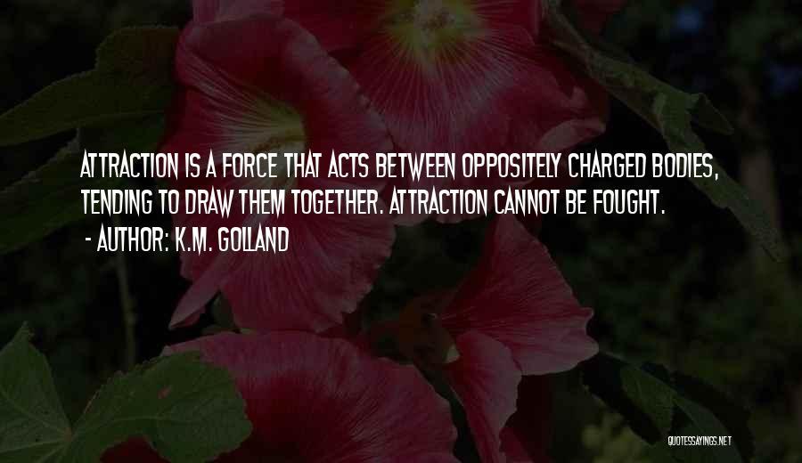 K.M. Golland Quotes 958856
