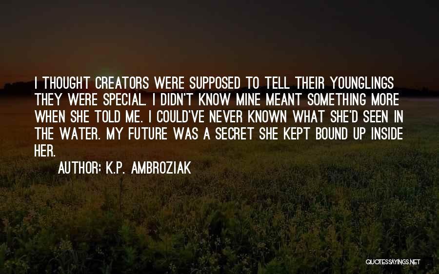 K.P. Ambroziak Quotes 1263812