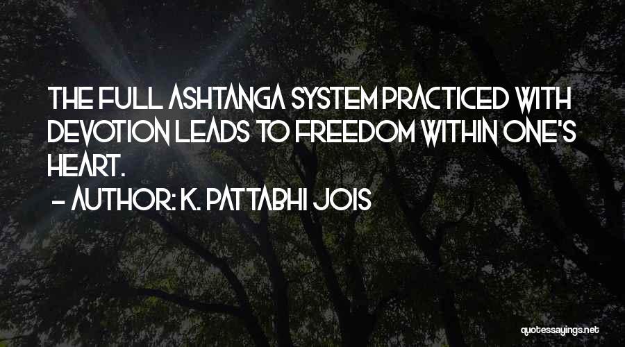 K. Pattabhi Jois Quotes 210526